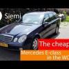 Mercedes e270 cdi, de goedkoopste ter wereld?